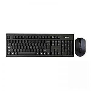 A4Tech 3000N Keyboard + Mouse Wireless-in-Pakistan