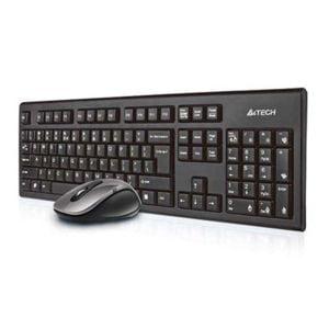 A4Tech 7100N Keyboard + Mouse Wireless-in-Pakistan