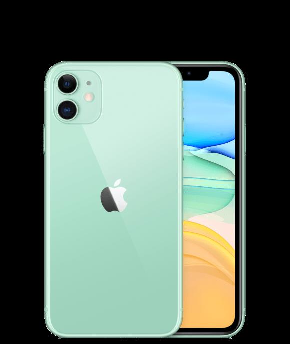Apple iPhone 11 (4G, 128GB ,Green) - Non PTA