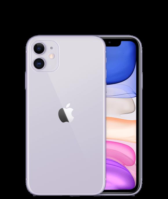 Apple iPhone 11 (4G, 128GB ,Purple) - Non PTA