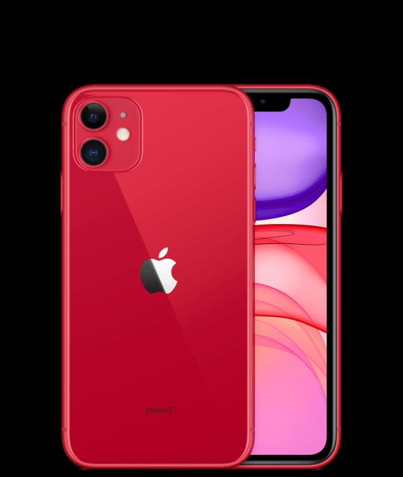 Apple iPhone 11 (4G, 128GB ,Red) - Non PTA
