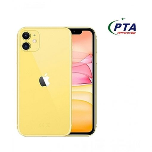 Apple iPhone 11 (4G, 64GB ,Yellow) - PTA Approved