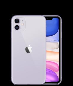 Apple iPhone 11 Dual Sim (4G, 128GB ,Purple) - Non PTA