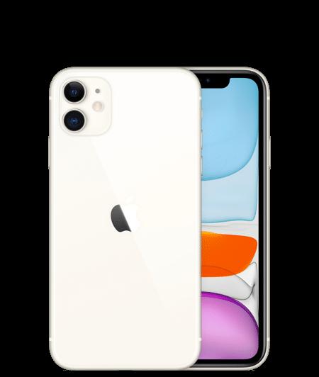 Apple iPhone 11 Dual Sim (4G, 128GB ,White) - Non PTA