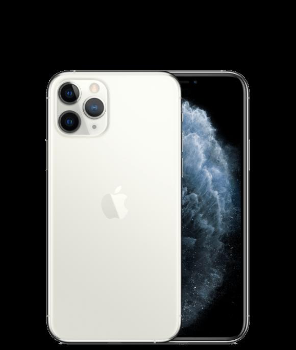 Apple iPhone 11 Pro (4G, 64GB ,Silver) - Non PTA