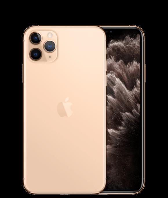 Apple iPhone 11 Pro Max Dual Sim (4G, 64GB, Gold) - Non PTA