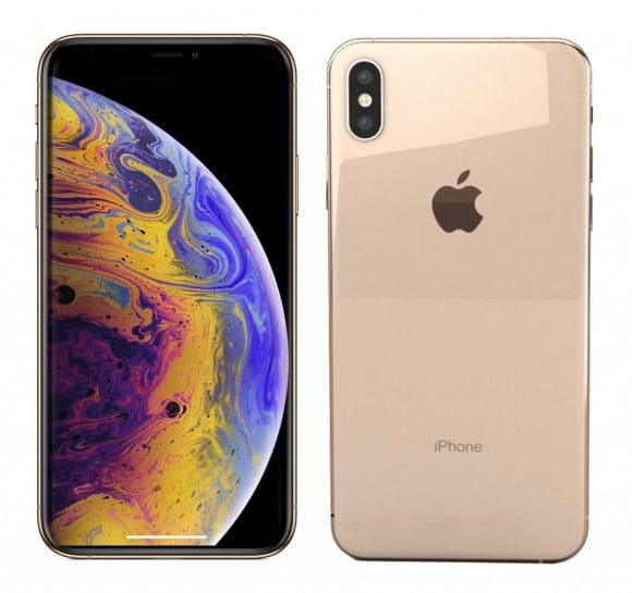 Apple iPhone XS (4G, 256GB Gold) - Single Sim Approved