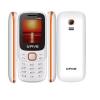 G'Five King Dual Sim - White+Orange (Official Warranty)