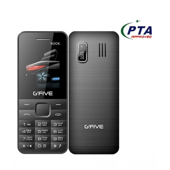 GFive Rock Dual Sim Black with Official Warranty