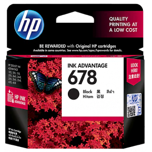 HP Cartridges 678 Black-in-Pakistan