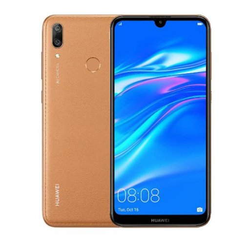 HUAWEI Y6 Prime 2019 Dual Sim (4G, 2GB RAM, 32GB ROM,Amber Brown) With 1 Year Official Warranty