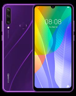Huawei Y6p (4G, 3GB 64GB, Phantom Purple) With Official Warranty
