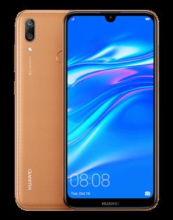 Huawei Y7 Prime 2019 Dual Sim (4G, 3GB, 64GB Brown)With 1 Year Official Warranty