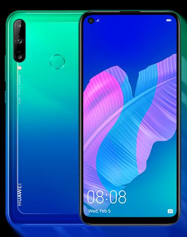 Huawei Y7p Dual Sim (4G, 4GB, 64GB,Aurora Blue) With Official Warranty