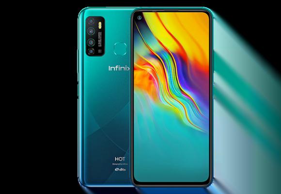 Infinix Hot 9 Dual Sim (4G, 3GB, 32GB, Cyan) With Official Warranty
