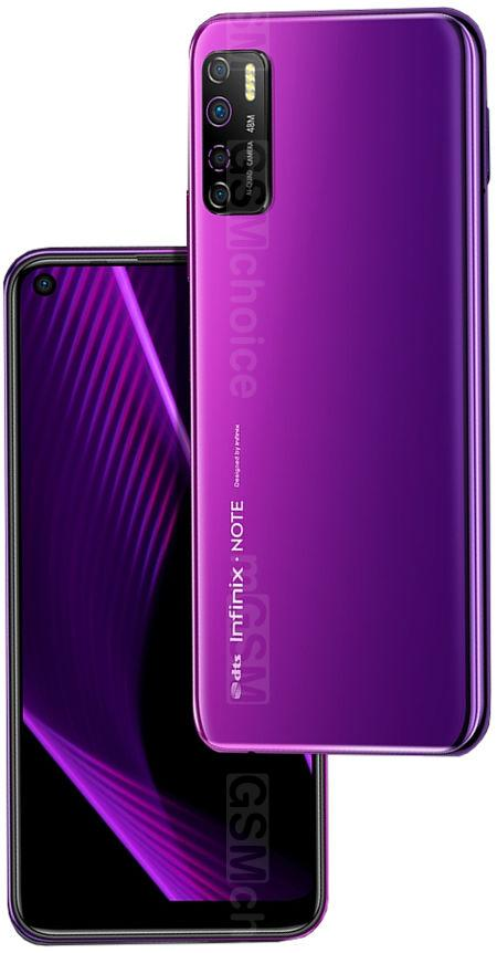 Infinix Note 7 Lite Dual Sim (4G, 4GB, 64GB,Violet) With Official Warranty