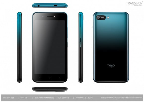 Itel A25 (4G, 1GB, 16GB, Gradation Blue) With Official Warranty
