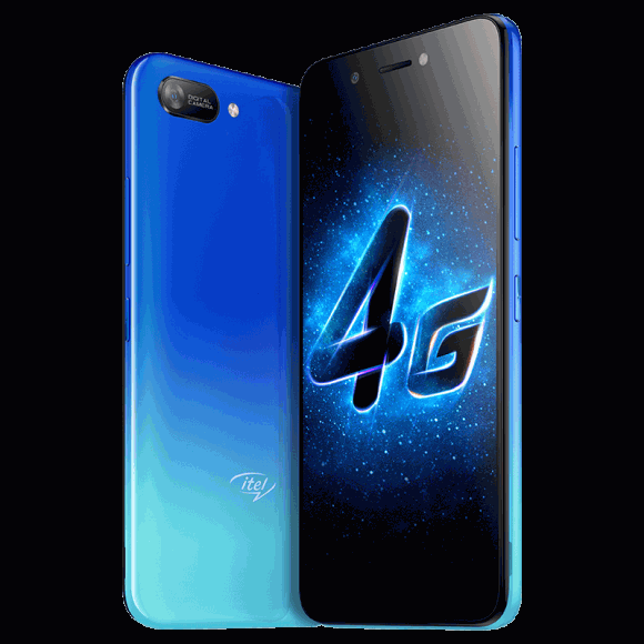 Itel A25 Pro (4G 2GB 32GB Blue) With official Warranty