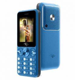 ITel Muzik 400 - 2.4'' - Dual Sim - 3000mAH Blue- Official Warranty