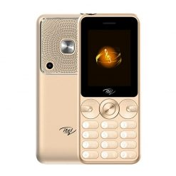 iTel Muzik 400 - 2.4'' - Dual Sim - 3000mAH Gold - Official Warranty