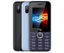 iTel Power 400 - 2.4'' - Dual Sim - 2500mAH - Black - Official Warranty