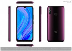 Itel S15 Pro Dual Sim (4G, 2GB,32GB,Gradation Dark Purple) With Official Warranty