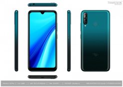 Itel S15 Pro Dual Sim (4G, 2GB,32GB,Gradation Med Blue) With Official Warranty