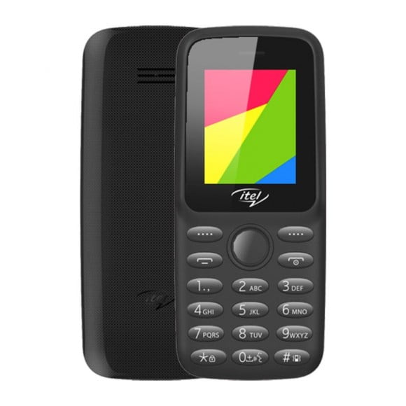 iTel Value 100 - 1.77'' - Dual Sim - 1000mAH - Official Warranty