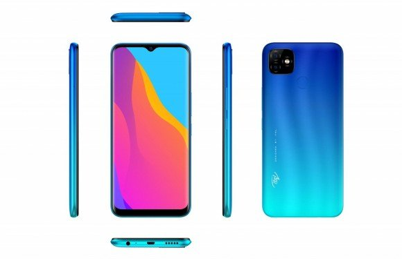 Itel Vision 1 Plus Dual Sim (4G, 3GB, 32GB, Blue) With Official Warranty