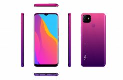 Itel Vision 1 Plus Dual Sim (4G, 3GB, 32GB, Purple) With Official Warranty