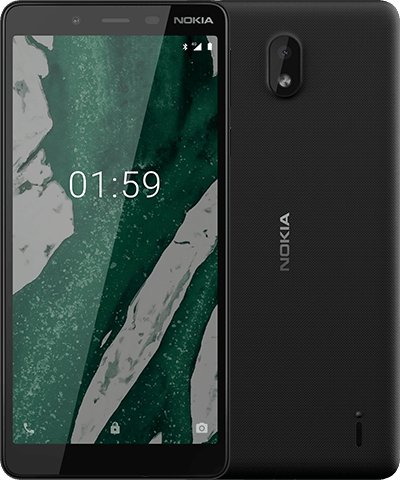 Nokia 1 Plus Dual Sim (4G, 1GB RAM, 8GB ROM, Black) With 1 Year Official Warranty