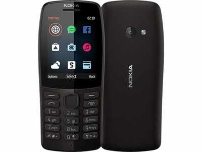 Nokia 210 Black With 1 Year Official Warranty