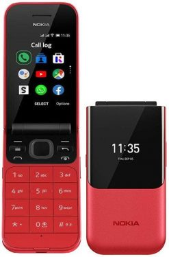 Nokia 2720 Flip Red With Official Warranty