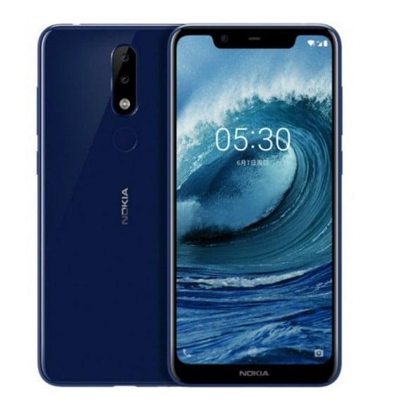 Nokia 5.1 Plus Dual Sim(4G, 3GB - 32GB, Night black) With Official Warranty