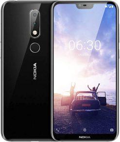 Nokia 6.1 Plus Dual Sim (4G, 4GB RAM, 64GB ROM, Black)