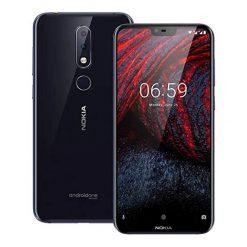 Nokia 6.1 Plus Dual Sim (4G, 4GB RAM, 64GB ROM, Blue) With 1 Year Official Warranty