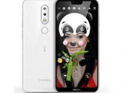 Nokia 6.1 Plus Dual Sim (4G, 4GB RAM, 64GB ROM, White) With 1 Year Official Warranty
