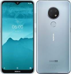 Nokia 6.2 Dual Sim (4G, 4GB RAM, 128GB ROM,Ice) with official Warranty