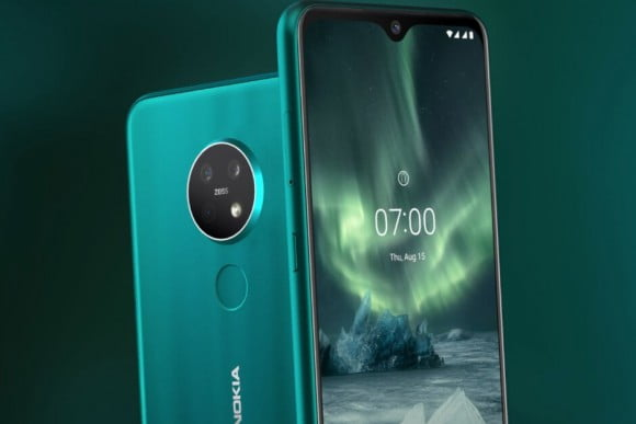 Nokia 7.2 Dual Sim (4G, 6GB RAM, 128GB ROM) Ice With 1 Year Official Warranty