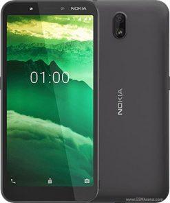 Nokia C1 Dual Sim (3G, 1GB, 16GB, Black) With Official Warranty