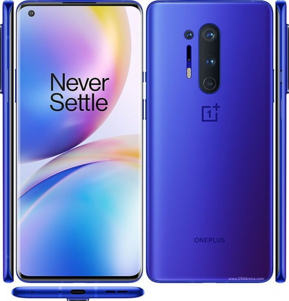 OnePlus 8 Pro (4G, 12GB, 256GB) Ultramarine Blue - PTA Approved