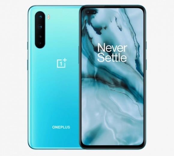 OnePlus Nord (4G 8GB, 128GB, Blue Marble) - PTA Approved
