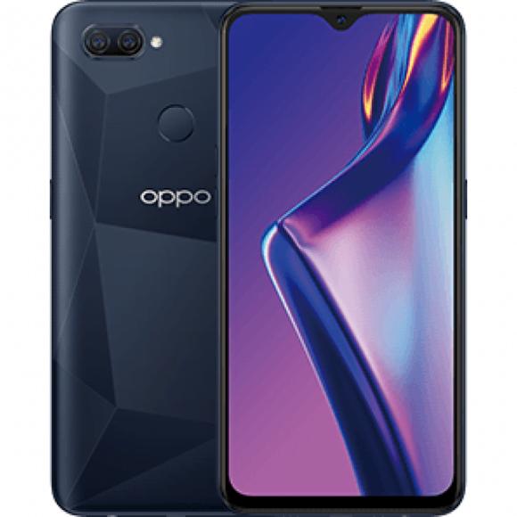 Oppo A12 Dual Sim (4G, 3GB, 32GB, Black) With Official Warranty