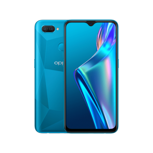Oppo A12 Dual Sim (4G, 4GB, 64GB, Blue) With Official Warranty