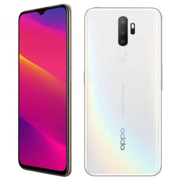 Oppo A5 2020 Dual Sim (4G, 3GB RAM, 64Gb ROM, Dazzling White) With 1 Year Official Warranty