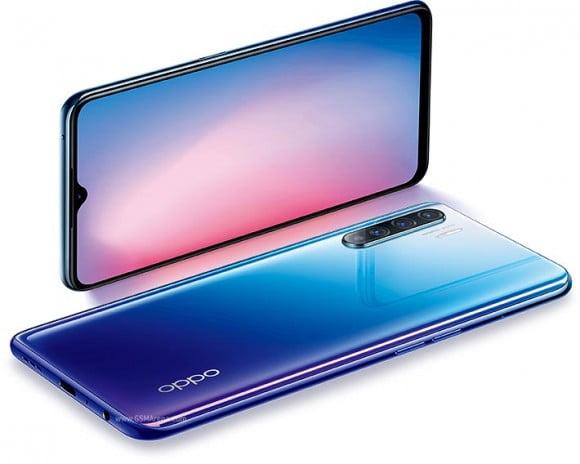 Oppo Reno3 Dual Sim (4G, 8GB, 128GB,, Aurora Blue) With Official Warranty