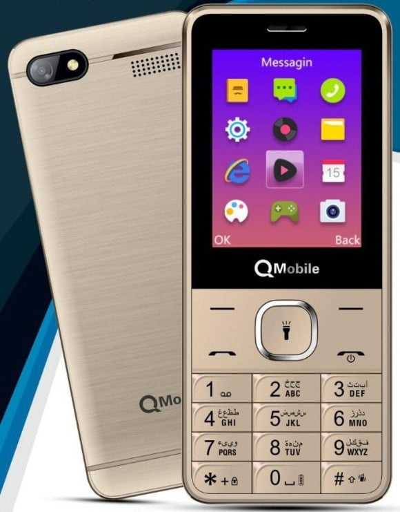 Qmobile Razar Z - 2.4'' - 1000mAh - Official Warranty