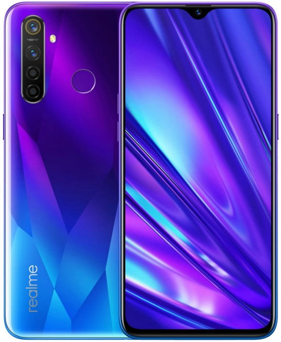 Realme 5 Pro (4G, 8GB RAM, 128GB ROM,Blue) With 1 Year Official Warranty