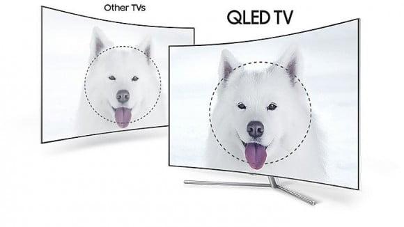 "Samsung 65"" 65Q8C CURVED 4K UHD SMART QLED TV"