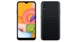 Samsung Galaxy A01 (4G, 2GB, 16GB,Black) With Official Warranty